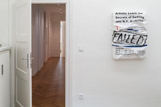 walk the talk, installation view