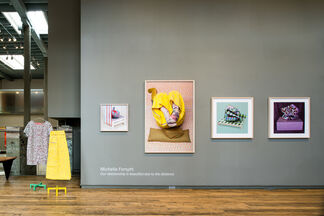 Our relationship is beautiful due to the distance, installation view