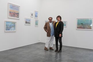 Denis Pavlovich Adushkin - Memory of a Mountain Guide. Curated by Julian Schnabel, installation view