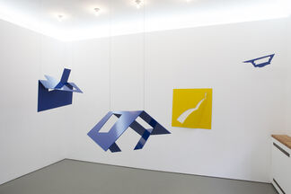 Ursula Sax – Blauer Salon, installation view