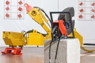 James Capper 'Hyraulic Sculptures', installation view