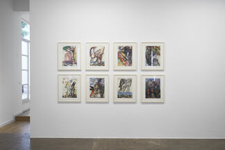 Markus Lüpertz - Studien zu einer Skulptur, installation view