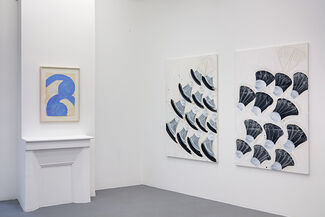 Fadia Haddad: Masques / Percussions, installation view