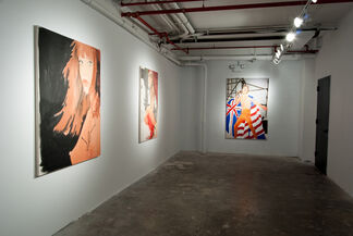 Girlfriends of the Rolling Stones, installation view