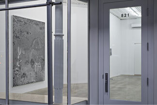 Rudolf Stingel: Part VII, installation view