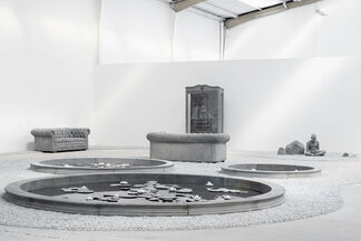 HANS OP DE BEECK 'Kids, cabinets, pictures and ponds', installation view