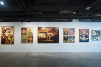 Visual Disobedience, installation view