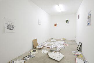 Alex Becerra | Las Putas Problematicas, installation view