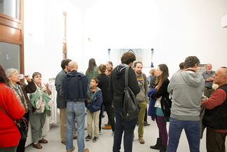 Tibor Gyenis' exhibition: Carved Facade, installation view