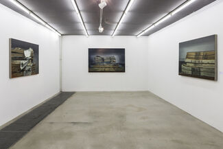 Multiple Perspectives: New Works by Xie Xiaoze, installation view