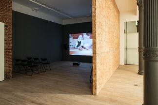 CHRIS VERENE - Home Movies, installation view