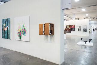 Zipper Galeria at SP-Arte 2017, installation view