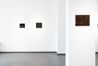 Piotr Kotlicki   Black Paintings, installation view