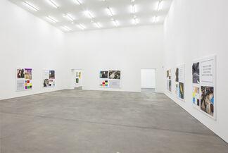 John Baldessari, 'Storyboard (In 4 Parts)', installation view