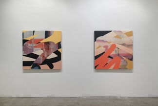 Pour, installation view