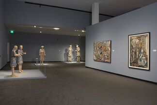 Bigger, Better, More: The Art of Viola Frey traveling exhibition, installation view