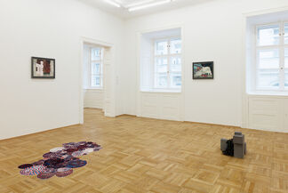 POLLY APFELBAUM & ISA MELSHEIMER Via Appia, installation view