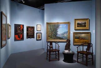 Heather James Fine Art at Spring Masters New York 2016, installation view