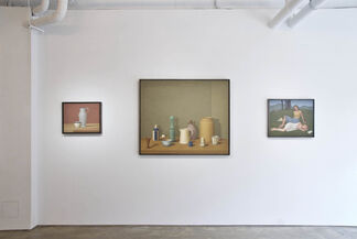 William Bailey Paintings and Drawings, installation view