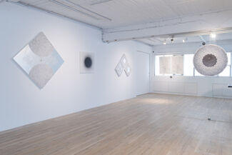 Silverpoint Drawing, installation view