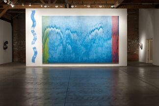 PAT STEIR:  Site Specific Installation & New Paintings, installation view