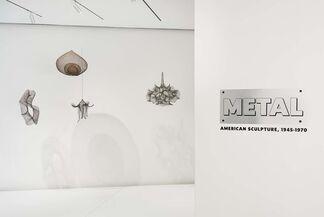 METAL: American Sculpture, 1945-1970, installation view