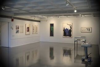 A Process of Emphasis: Prints of Robert Motherwell, Works on Paper, 1971-1988, installation view