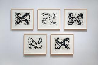 Richard Serra: Selected Works, installation view