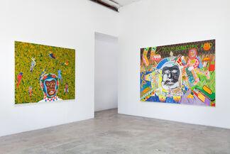 Peter Williams:  Black Exodus, installation view