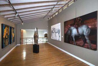 """David Manzur """" Punto de Partida"""", installation view"""