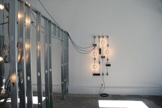 Matthew McCaslin's Place to Put It, installation view