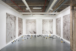 Ellis King at (OFF)ICIELLE 2014, installation view