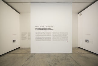 Raqs Media Collective: It is possible because it is possible, installation view