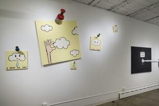 No Art Here, installation view