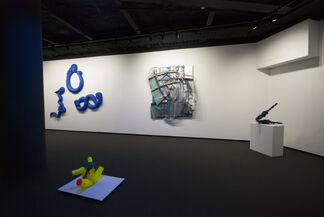 Out of the Blue, installation view