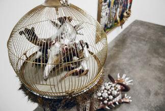 Stefanie Gutheil: Dreckige Katze, installation view