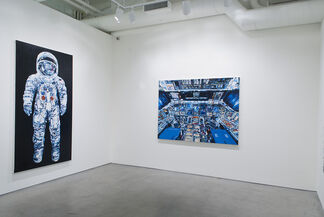 Thunder in the Distance, installation view