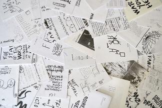 Dan Perjovschi's Zines. 1992-2015, installation view