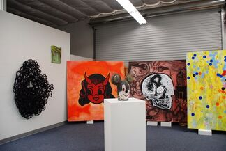 The Annex: Anne Gregory, Michaele LeCompte, and other artists, installation view