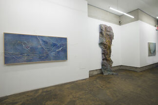 Soojin Cha: Eternal Energy: Embroidery Drawing, installation view