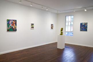 Jackie Gendel and Julia Kunin, installation view