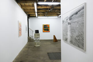 Lost in a Sea of Red, installation view
