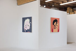 Chris Finley 'Drool, Snatch, Clean and Jerk', installation view