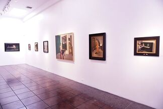 Lola Gil: Outside In Doors // Todd Carpenter: Shadow Discarnate, installation view
