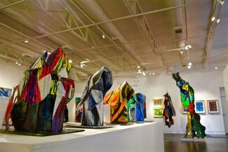 Tom Holland: NOW… and a little bit of history, installation view