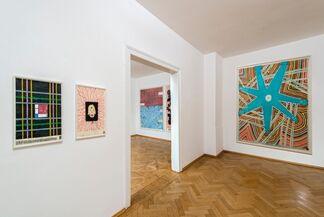 Rascheln und Zukunft, installation view