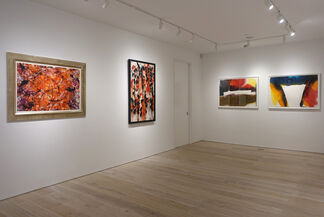 Between Tachisme and Abstract Expressionism: Bluhm, Francis, Jenkins, installation view