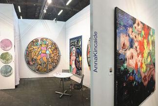 "JoAnne Artman Gallery at Art New York 2019 - CONTEXT- ART NEW YORK: Presenting Works By AMERICA MARTIN, JOHN ""CRASH"" MATOS, ANNA KINCAIDE + AUDRA WEASER (Booth #ANY320), installation view"