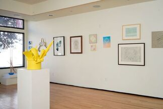 The PLAY/GROUND Pop Up Gallery, installation view
