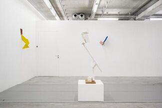 Joel Shapiro 'Painted Wood', installation view